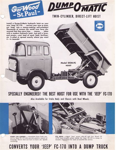 1959 jeep ad 01 dump o matic 1959 1 fo 2 jeep willys world