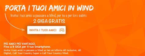porta in wind porta i tuoi amici in wind fino a 8 gb gratis se porti