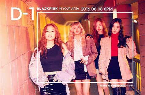 blackpink show 1 day left until blackpink s debut new group teaser