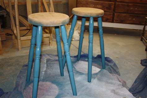 Diy Bar Stool Makeover by Nifty Thrifty Momma Diy Easy Bar Stool Makeover