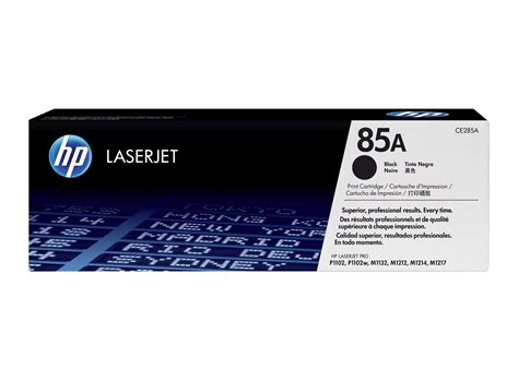 Tinta Printer Hp 85a Cartucho De T 243 Ner Original Laserjet Hp 85a Negro Hp