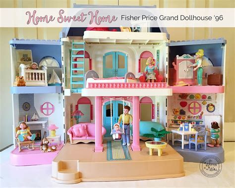 Beautiful Loving Family Christmas Dollhouse #5: Fisher-price-dollhouse-cleaning-Main-Photo.jpg