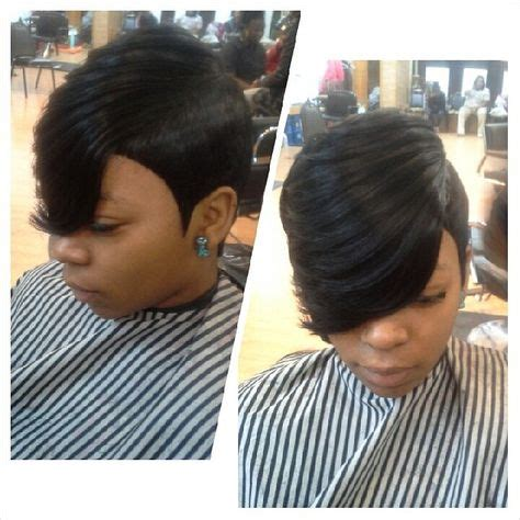 27 piece quick weave short hairstyle 27 piece feather side hairstyles pinterest feathers