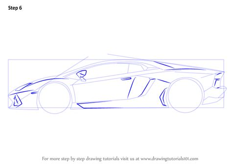 lamborghini sketch side view learn how to draw lamborghini centenario side view sports