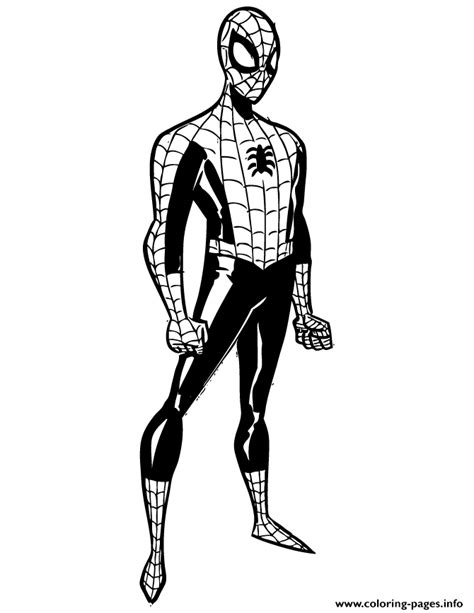 golden spiderman coloring page the amazing spider man colouring page coloring pages printable