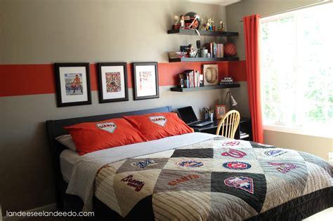 Teen boy bedroom reveal landeelu com
