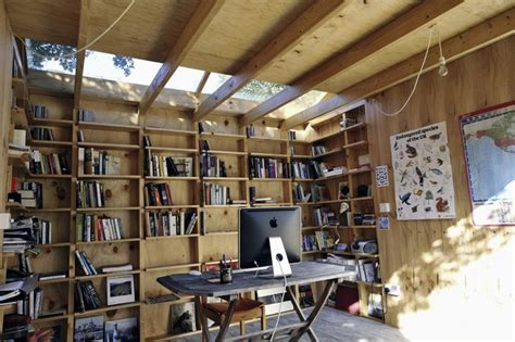 office in garage hackney shed eclectic garage and shed london by