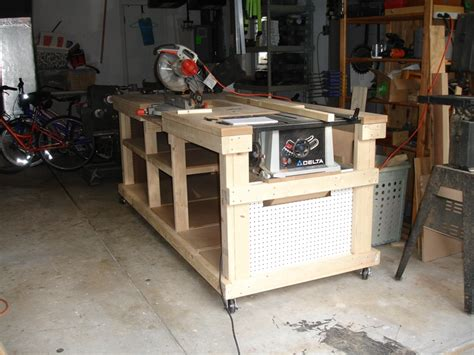 garage workshop ultimate workbench