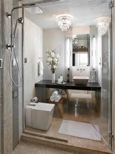 master bathrooms a sleek space with furnishings pared the master