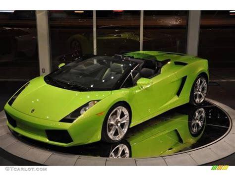 Light Green Lamborghini 2007 Verde Faunus Light Green Lamborghini Gallardo