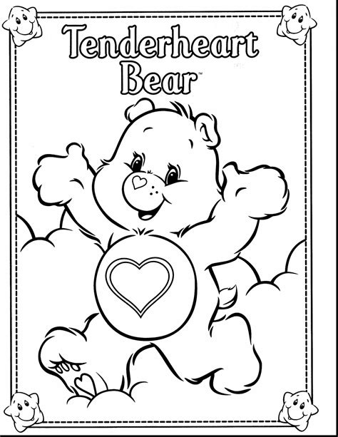 care coloring pages care bears coloring pages coloringsuite