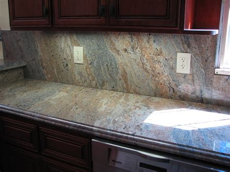nice Should You Tile Under Kitchen Cabinets #8: Backsplash-Ideas-With-Dark-Granite-Countertop.jpg