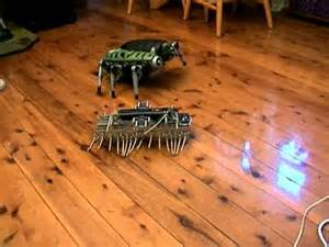 Tyco Nsect Robotic Attack Creature by A Gakken Mechamo Centipede Has A Encounter With A