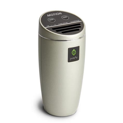 greentech environmental filterless air purifier compact for vehicle cluster ion technology