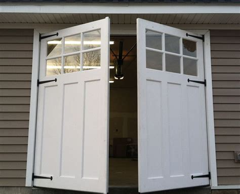 swing out doors swing out carriage doors garage doors pinterest