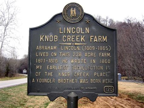 Knob Creek Wiki by Lincoln Boyhood Home Athertonville Ky U S National