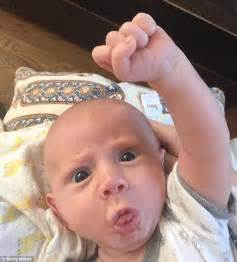 So How Many Babies Is That by Instagram Account Shows Newborn Looking Shocked Confused