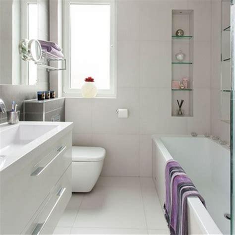 Bathroom Storage Ideas Uk by 15 Ba 241 Os Modernos Color Blanco