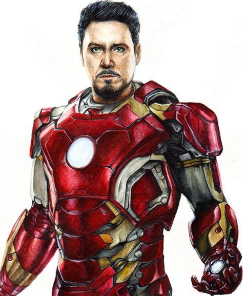 Iron Is Tony Stark iron tony stark by liubovkorotkova on deviantart