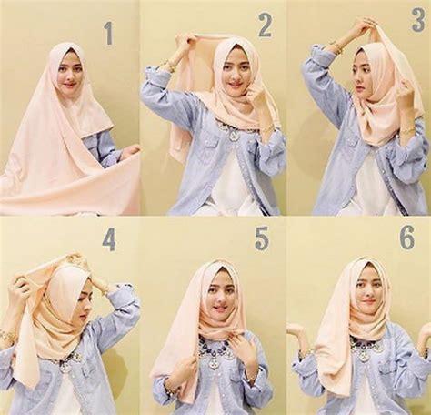 tutorial hijab pasmina simple cantik berita terbaru tentang turial hijab pashmina lihat co id