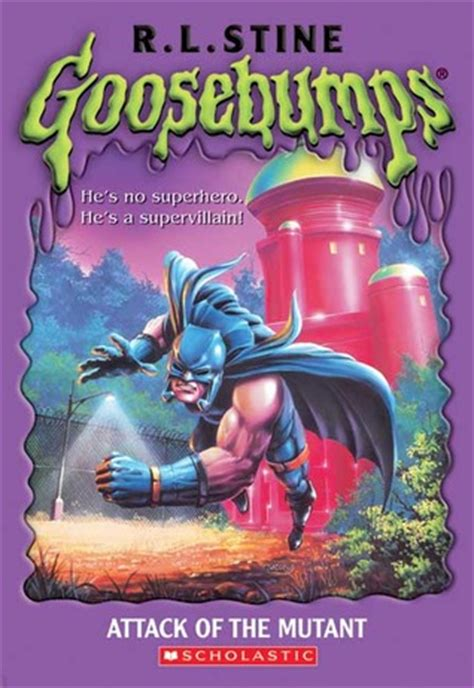 Rl Stine Rumah Setan I The Horror attack of the mutant goosebumps 25 by r l stine reviews discussion bookclubs lists
