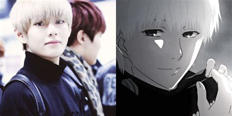 V Anime Bts by 15 K Pop That Are Basically Anime Characters In Real