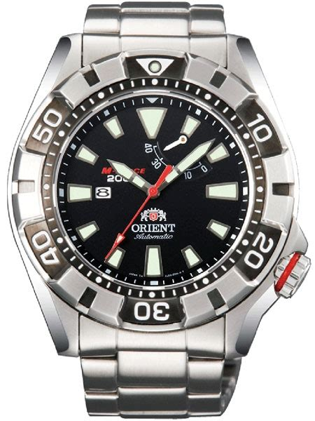 orient m automatic black dive with power