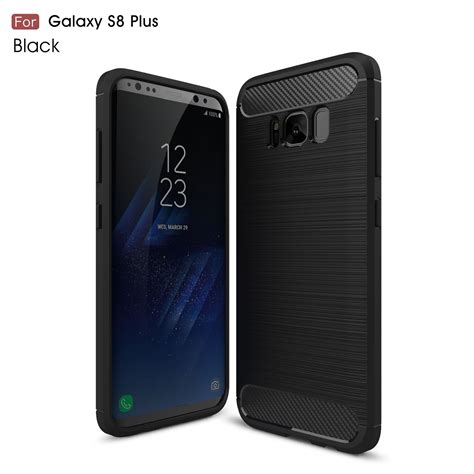 Sale Ipaky Carbon Fiber Samsung Galaxy S8 Plus Soft Series ock products home of your ecommerce s needs