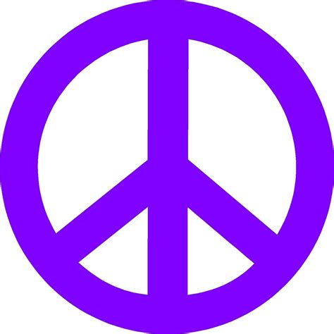 Wash With Like Colors Symbol - peace sign vinyl decal sticker for hippies peacenicks and