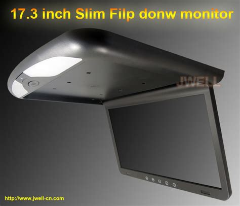Monitor Roof 17 3 inch car roof mount monitor with ir fm slim 1920 x 1080 j well industrial co ltd