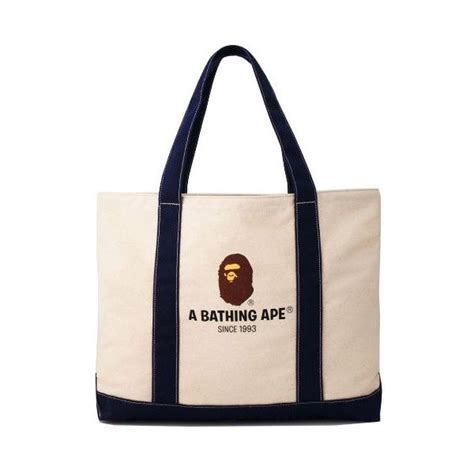 Bape Tote Bag Leather bape by japan magazine 2010 tote bag 50 liked on polyvore featuring bags handbags and tote
