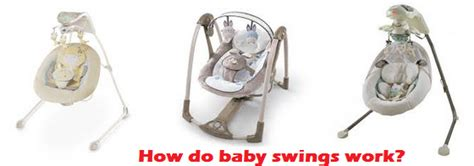 how swings work how do baby swings work bestbabyswinglab com