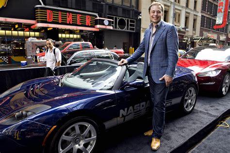 Tesla Car Ceo Stock Tesla Motors