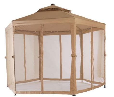 gazebo 10x10 10 x 10 outdoor gazebo canopy w mosquito netting