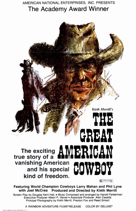american cowboy film the great american cowboy movie posters from movie poster shop