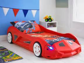 Toddler Car Bed Mattress Racing Car Bed Childrens Toddler Junior Bed With