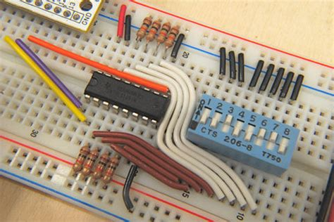 breadboard circuit how to use a breadboard