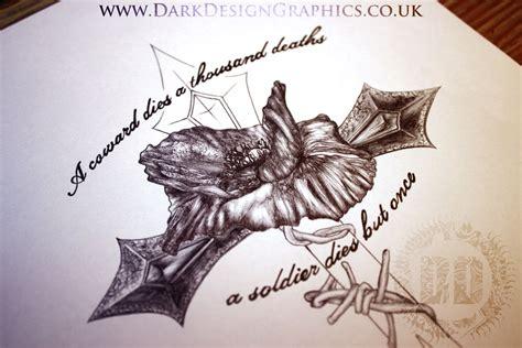 poppy cross memorial design design