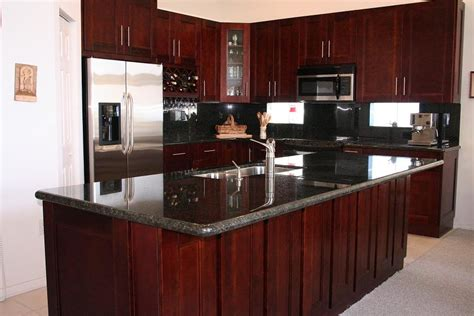 cherry shaker kitchen cabinets decorating with cherry wood kitchen cabinets my kitchen