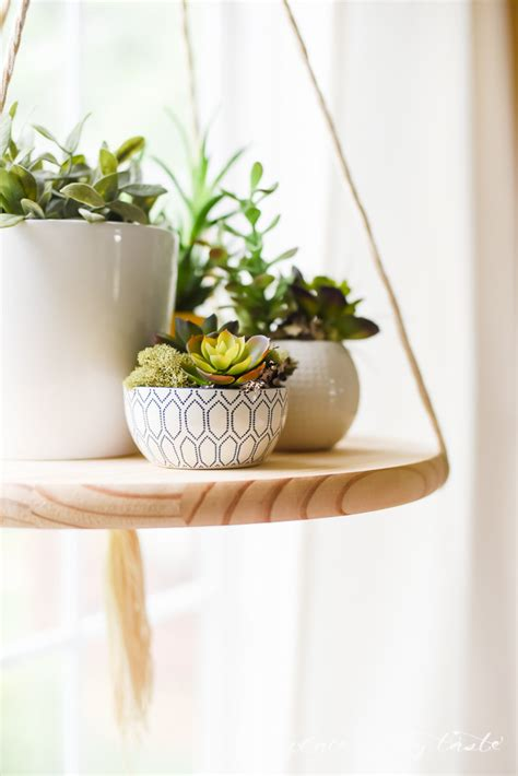 Diy Garden Shelf by Diy Floating Shelf To Display Your Plants Or Other Decor Items