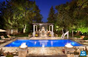 Backyard Pools Luxury Backyard Design Trends For 2015 Upscale Living