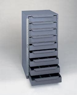Industrial Storage Cabinets With Drawers by 24 1 2 Quot Height Durham 611 95 Industrial Storage 9 Drawer