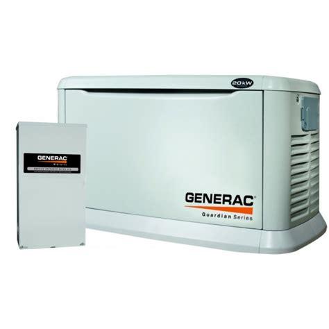 generac guardian 5875 20kw standby generator
