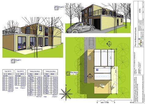 Plan De Maison Moderne by Plan Maison Moderne Pdf