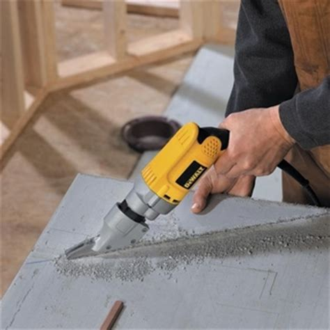 Dewalt D28605 5 16 Quot Variable Speed Fiber Cement Siding Shear