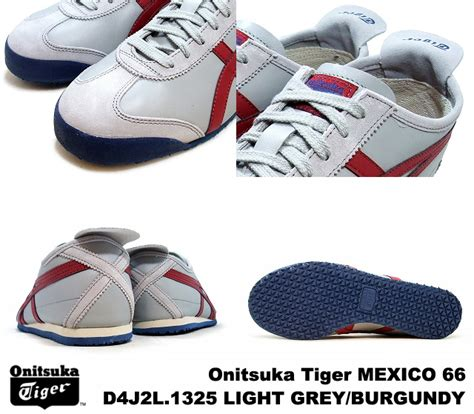 Po Original Onitsuka Tiger Mexico 66 Yellow Mustard White D6e9l 7102 premium one rakuten global market onitsuka tiger mexico 66 mexico grey burgundy onitsuka