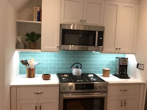 green kitchen backsplash green glass subway tile subway tile outlet