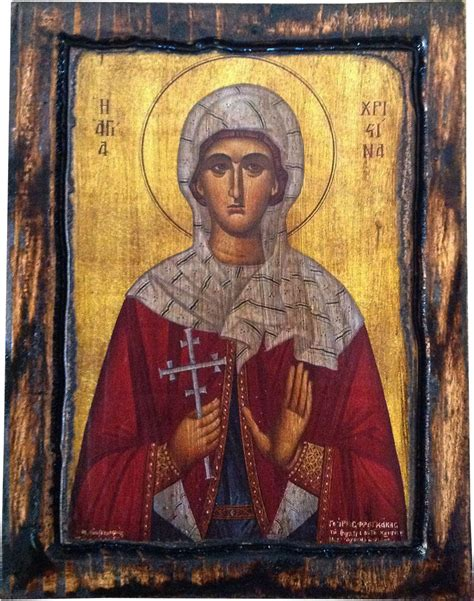 Handcrafted By St - st orthodox byzantine icon on wood handmade