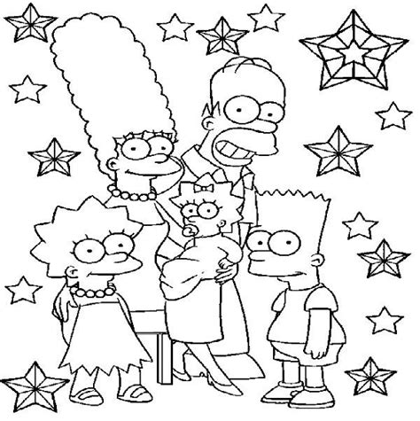 coloring pages of the simpsons christmas the simsons images coloring pages print coloring pages