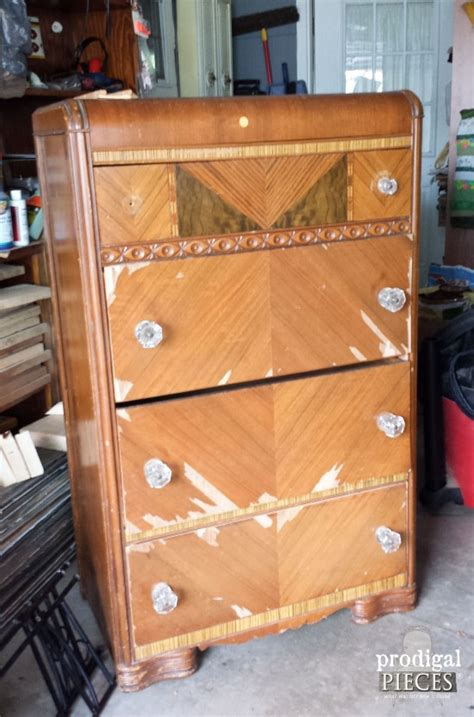 antique art deco bedroom furniture best decor things she found a shabby old dresser at a garage sale what it